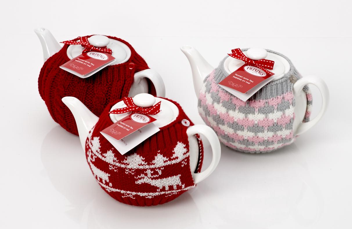 Twinings Tea Pot & Cosy Gift Set | HomeLiving™
